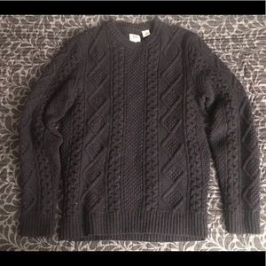 Levi's Men's Fisherman Cable Knit Sweater size M